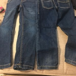 Old Navy jegging skinny jeans set of two pair 3t